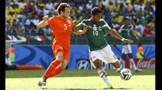 Mexico Holanda Brasil 2014