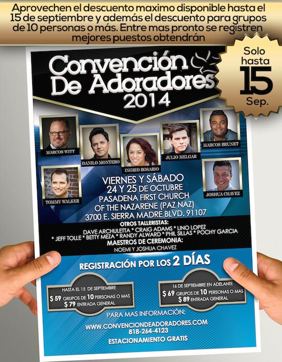 Convencion de Adoradores 2014