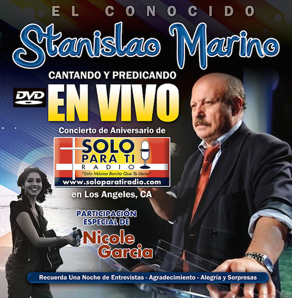 DVD Marino Concierto SPTR
