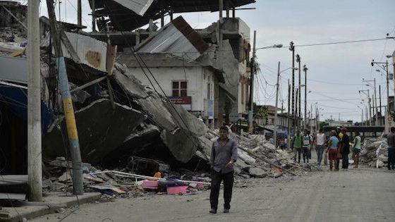 Dos terremtos mortales sacudieron Japón y Ecuador con dos días de diferencia. Foto : AFP