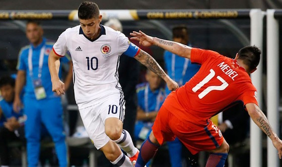 Chile ganó 2-0 a Colombia y jugará la final de la Copa América