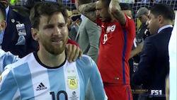el llanto de Messi
