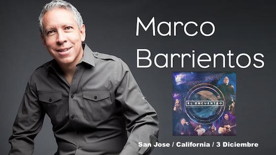 Marco Barrientos Nos Presentara Su Nuevo Disco ¨El Encuentro¨¨